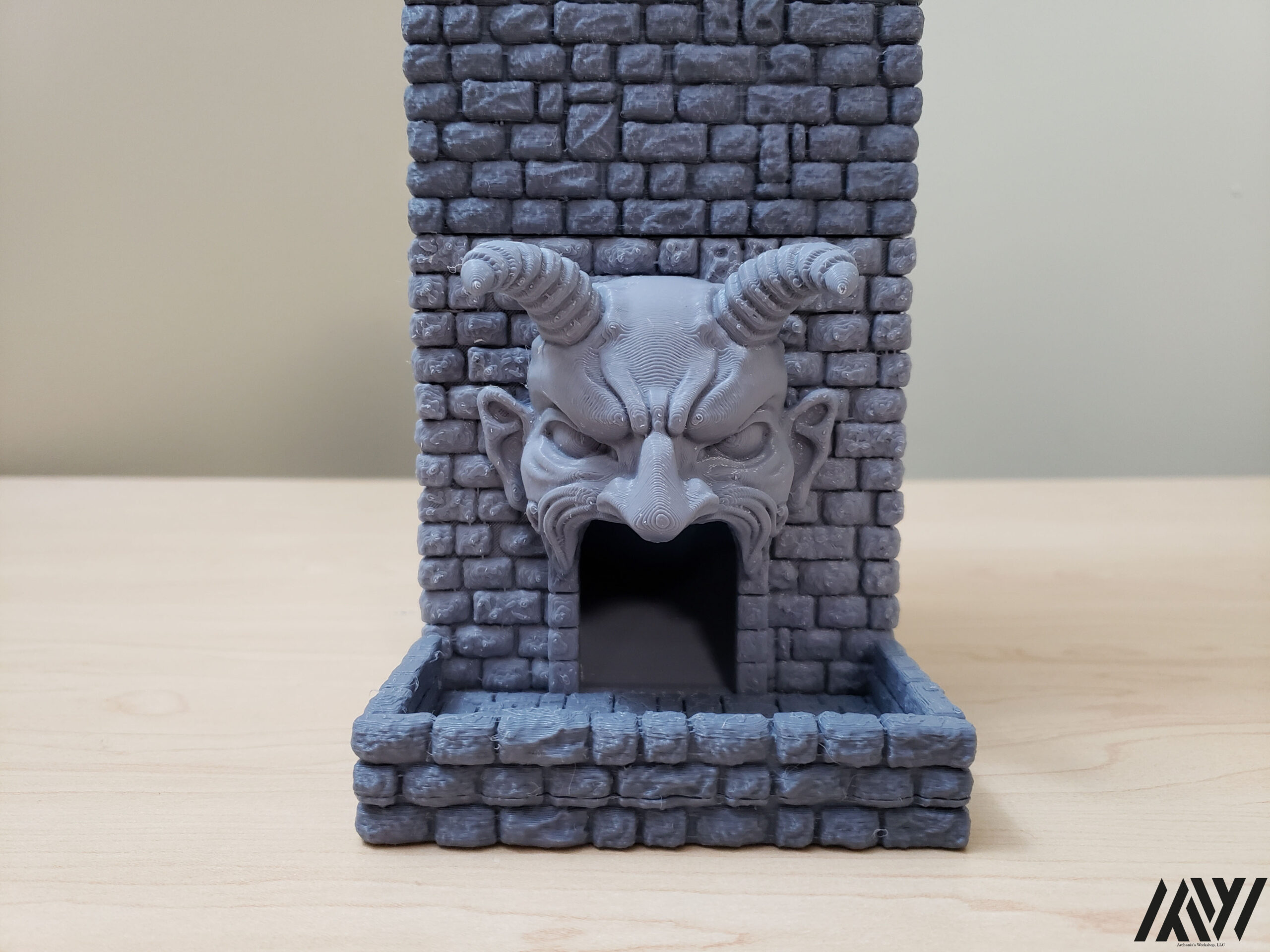 Demon Faced Dice Tower